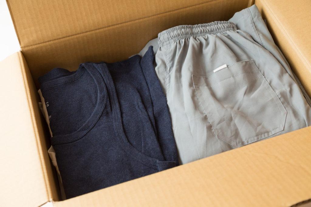 衣類の遺品