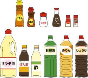 調味料の処分