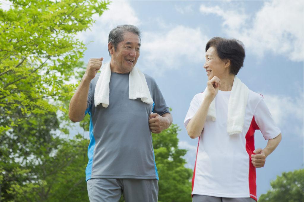 高齢になるにつれて適度な運動を心がけてください