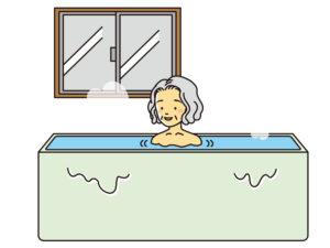 ヒートショックを引き起こさないよう、寒い季節の入浴にはご注意ください
