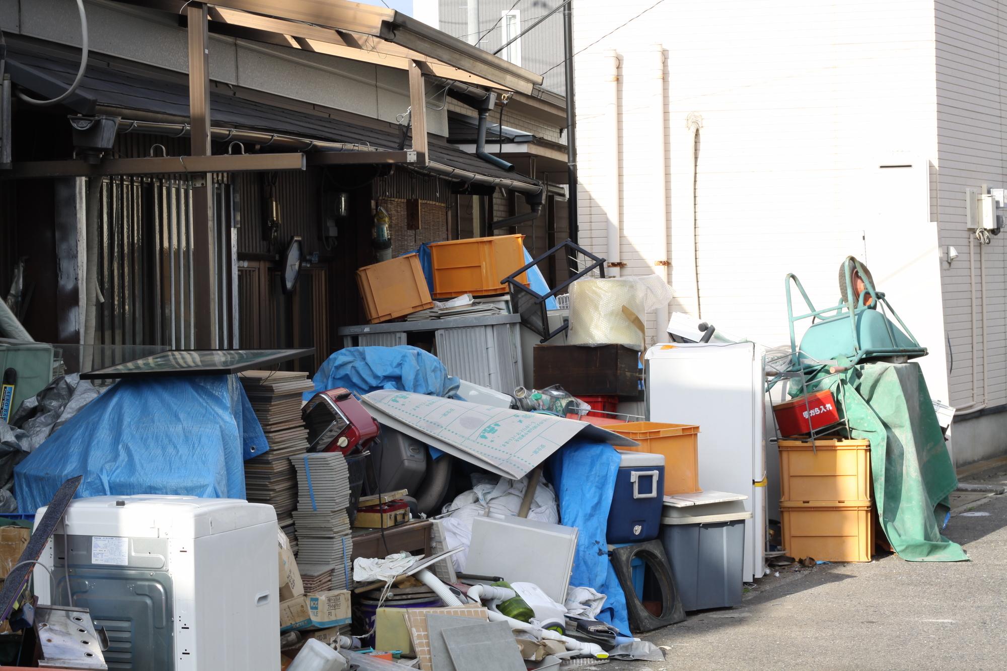 遺品整理 ごみ屋敷 清掃