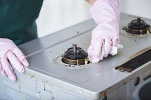 ガスコンロ 処分 バーナー 掃除