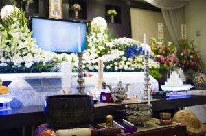 自由葬 祭壇