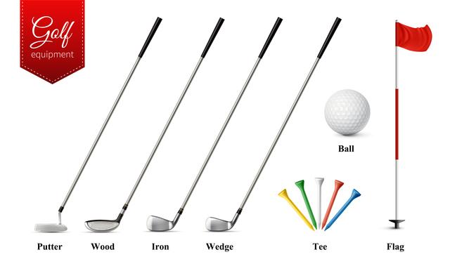 処分したゴルフクラブの種類