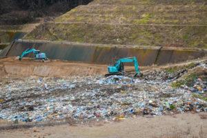 ゴミ埋め立て