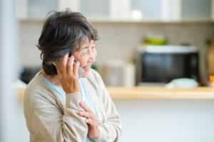 孤独死防止のこまめな連絡