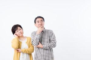 遺品整理に悩む夫婦
