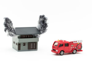 ゴミ屋敷の火災の可能性