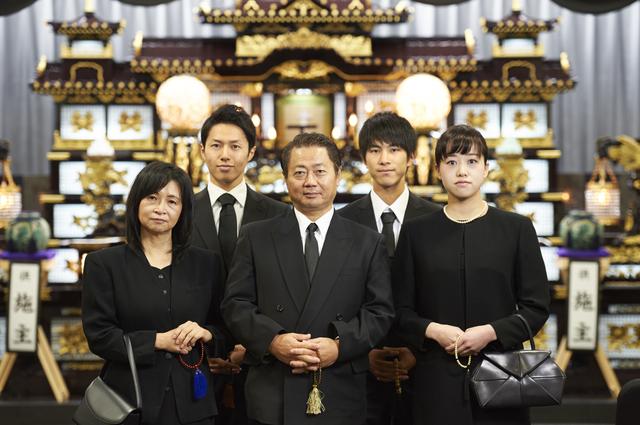 生前葬に集まる親族