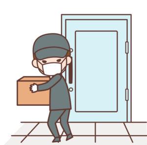 遺品整理業者の盗難