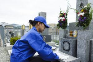 墓参り代行サービスの手順