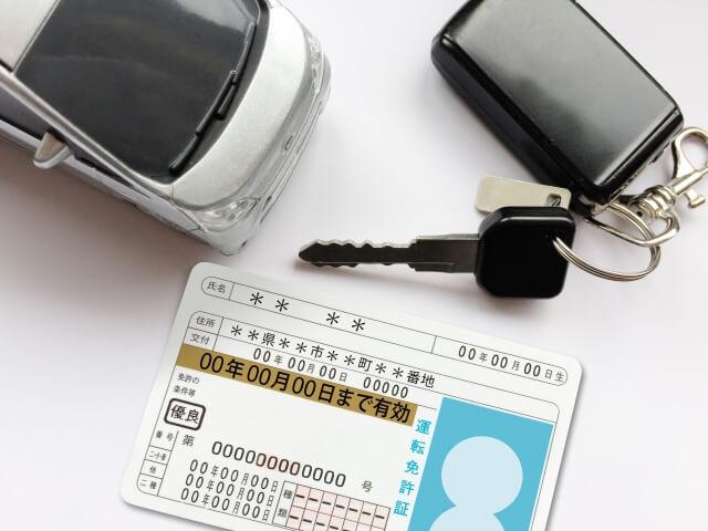 故人の免許証の行方