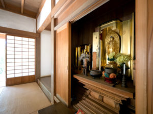 仏壇置き場