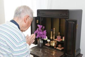 マンションにある仏壇
