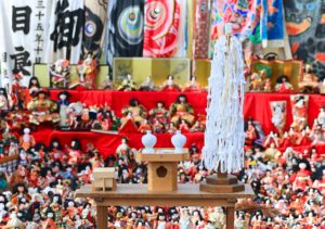 人形供養は主にお寺・神社で行われます