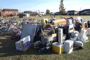 家電リサイクル法違反 遺品整理 廃品回収