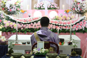 オンライン葬儀での告別式