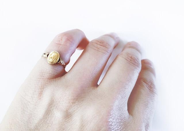 リメイクした指輪
