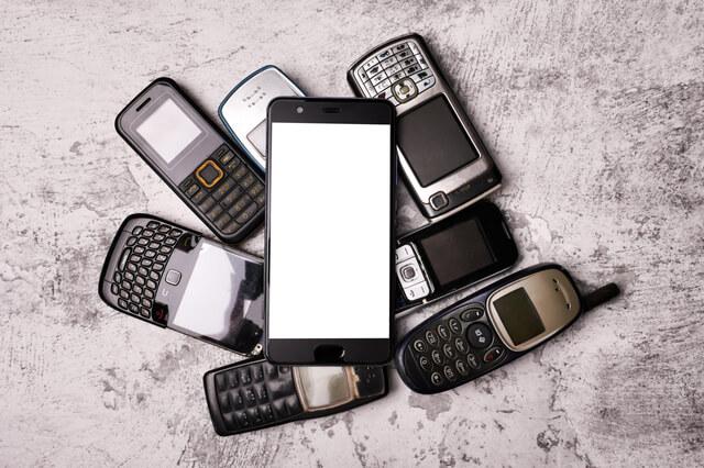 携帯電話を捨てる前にやること