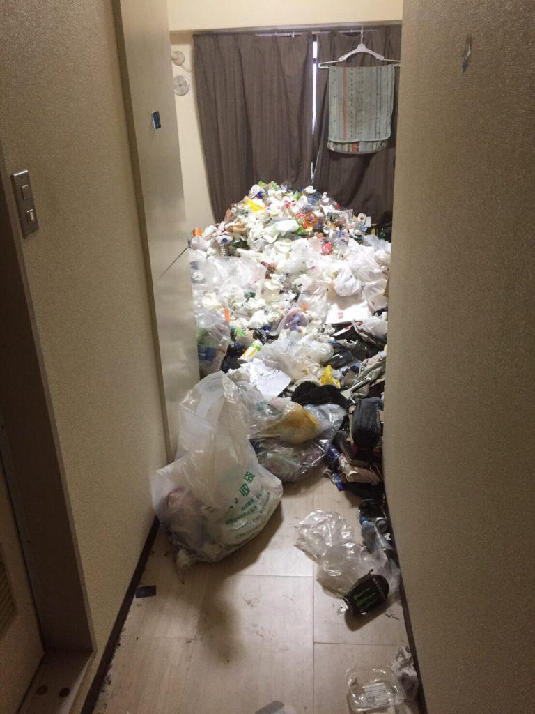 中野区 ゴミ屋敷 ハウスクリーニング T様 ビフォー