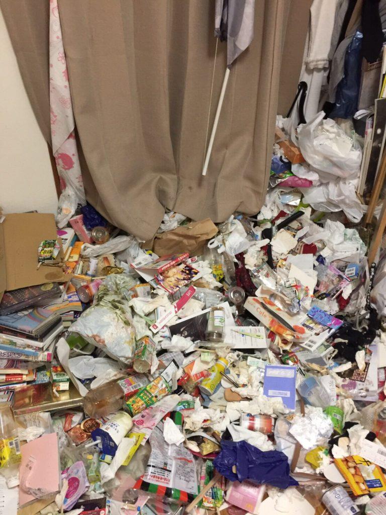 昭和区(名古屋市)でのゴミ屋敷清掃の事例01