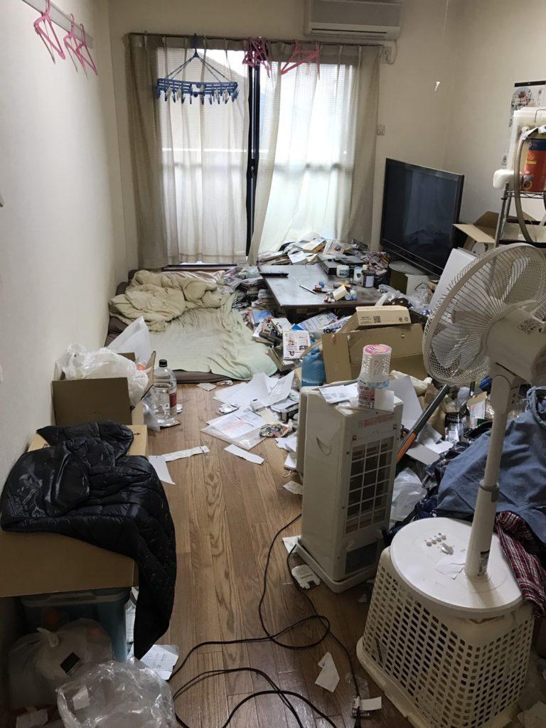 愛知県津島市のゴミ屋敷清掃事例|七福神