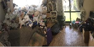 東住吉区(大阪市)のゴミ屋敷・不用品回収ビフォーアフター03