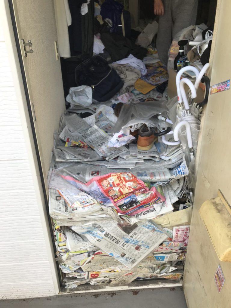 北区 東京都 ゴミ屋敷 K様 ビフォー01