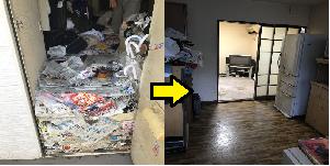 北区 東京都 ゴミ屋敷 K様 ビフォーアフター01