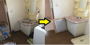 名古屋市北区のゴミ屋敷清掃ビフォーアフター03