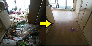 杉並区のゴミ屋敷掃除の事例