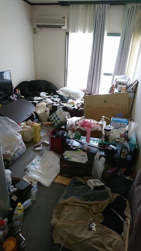 横浜市 鶴見区 不用品回収 O様 ビフォー