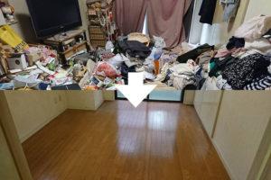 千葉県松戸市でのゴミ屋敷清掃