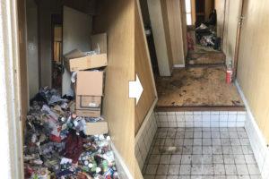板橋区 ゴミ屋敷 ビフォー アフター