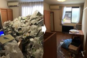 明石市 ゴミ屋敷 ビフォーアフター 兵庫県