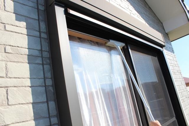 掃除 リビング 寝室 窓 ブログ04