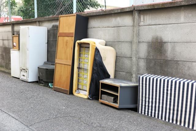 粗大ゴミ ベッド 処分 ブログ03