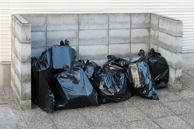 マンションのゴミの出し方