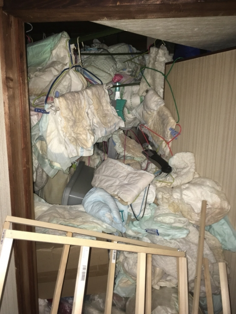 生活保護 ゴミ屋敷 片付け ブログ03