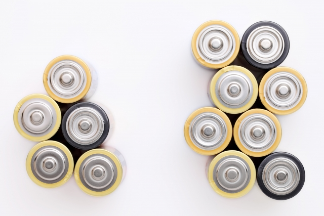 乾電池の処分方法