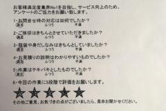 お客様 アンケート 神奈川県 川崎市 F様