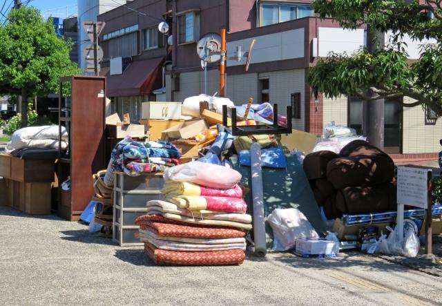 ベッドや布団を粗大ゴミとして処分