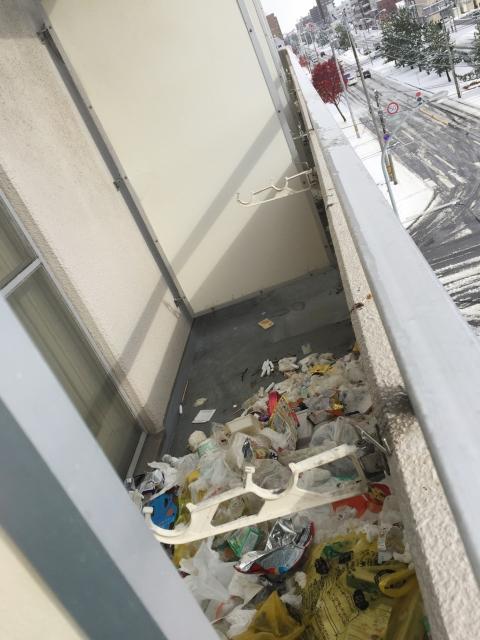 マンション 隠れゴミ屋敷 ブログ02