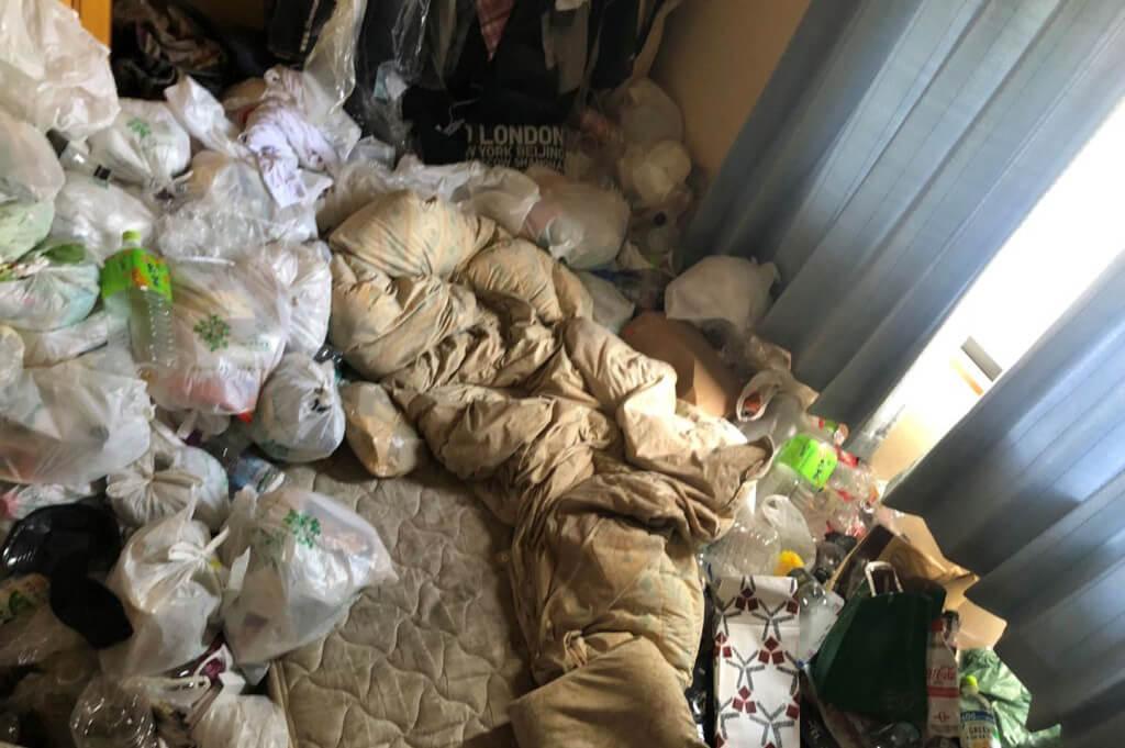 名古屋市(千種区)のゴミ屋敷の掃除
