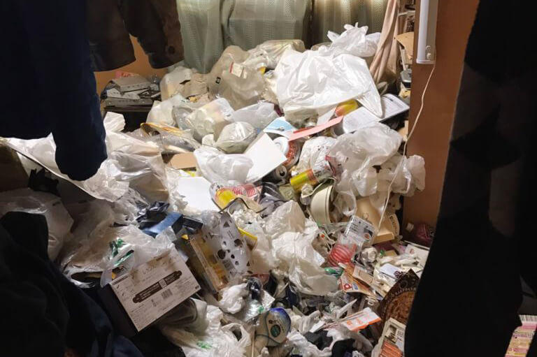 名古屋市(緑区)の汚部屋掃除