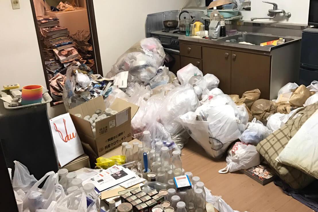 大阪市西成区のゴミ屋敷・汚部屋片付け