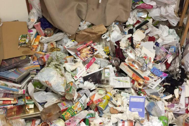 名古屋市(昭和区)の汚部屋掃除