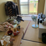 天王寺区(大阪)での不用品回収の居間ビフォー