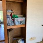 天王寺区(大阪)での不用品回収の押入れビフォー