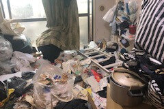 練馬区K様のゴミ屋敷清掃ビフォー写真